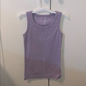 Purple With Pink Spot Tank Top